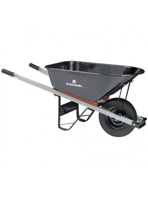 Heavy-Duty Steel Wheelbarrow – 6 Cubic Ft.