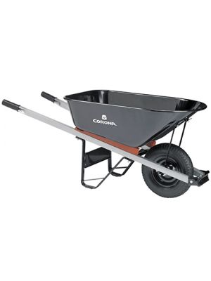 Heavy-Duty Steel Wheelbarrow – 6 Cubic Ft